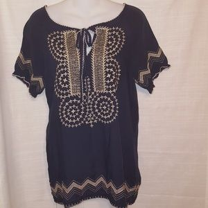 Urban mangoz| top blue| size small| new with tag